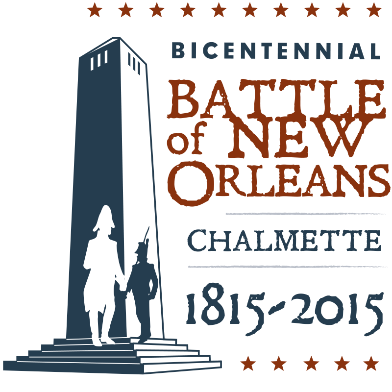 200th Anniversary Of The Battle Of New Orleans Logo Design